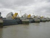 Thames Barrier closing