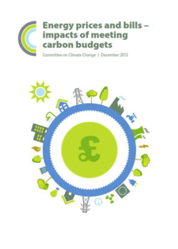 Energy prices and bills - impacts of meeting carbon budgets