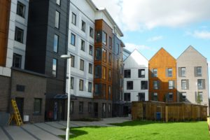 New student accomodation at the University of Hertfordshire