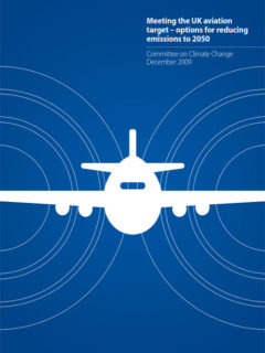Meeting the UK Aviation target – options for reducing emissions to 2050