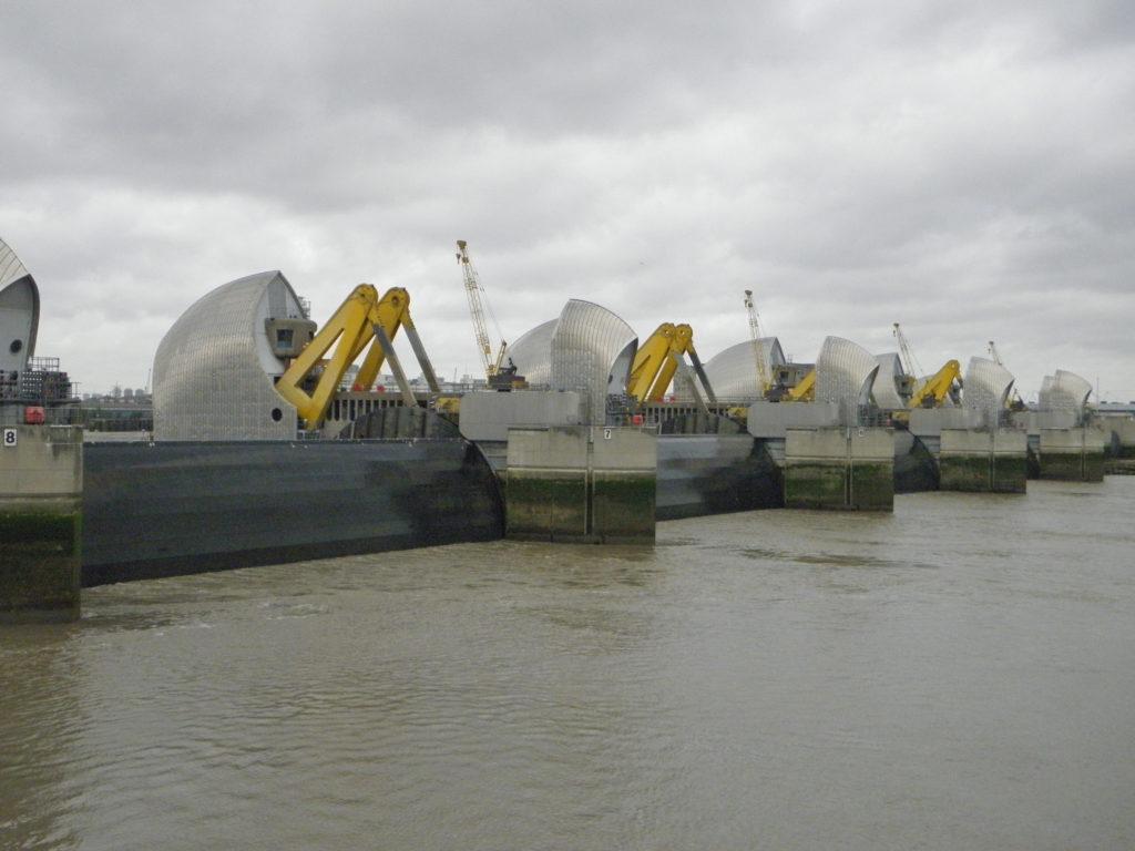 Thames Barrier closing