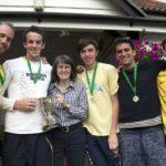 CCC football success! Mike Thompson, Jonathan Haynes, Bronwyn Hill, Tom Hall, Alex Kazaglis, Owen Bellamy