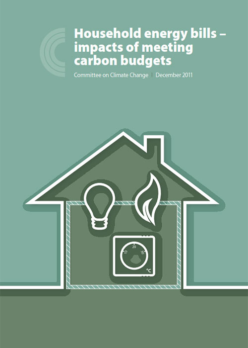 Household energy bills - impacts of meeting carbon budgets