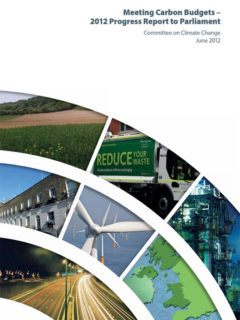 Meeting the Carbon Budgets - 2012 Progress Report to Parliament