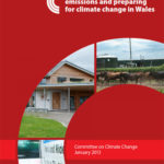 Progress on reducing emissions and preparing for climate change in Wales