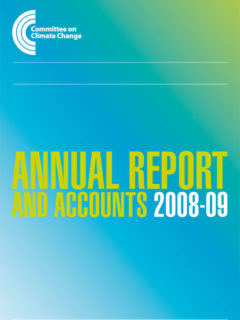Annual report and accounts 2008 - 09