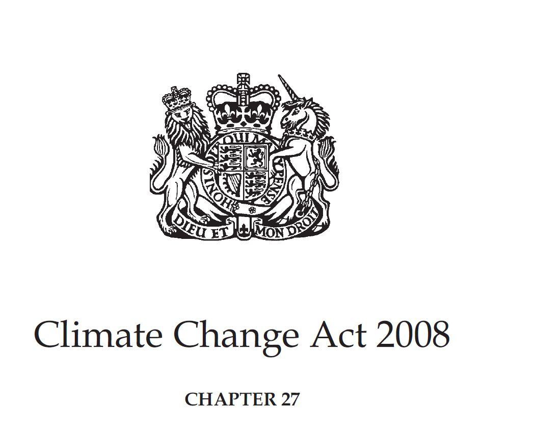 climate change act 2008 pdf