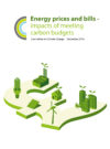 Energy prices and bills impacts of meeting carbon budgets
