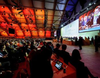 COP21 Paris - Plenary session