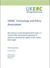 UKERC Best practice in heat decarbonisation policy