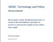 UKERC Best practice in heat decarbonisation policy
