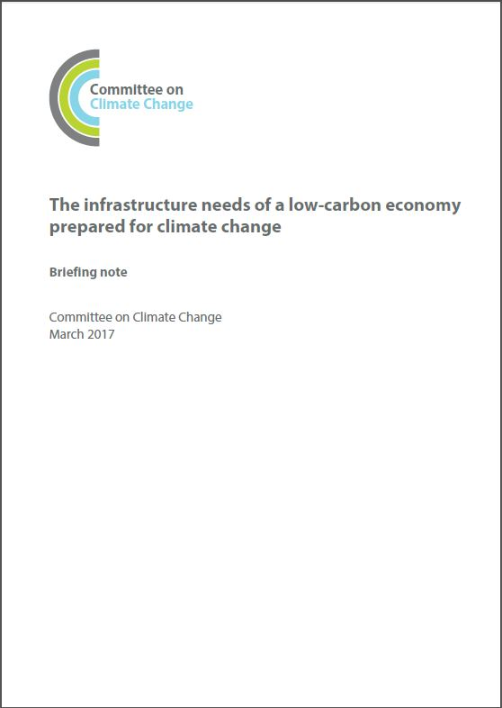Infrastructure report - Cover