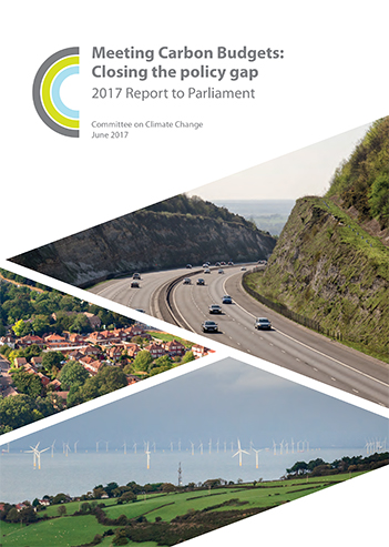 Mitigation progress report 2017 cover