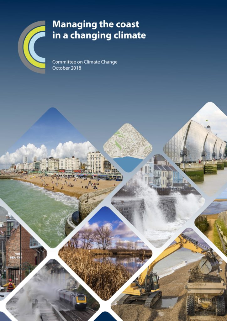 Front cover - managing the coast in a changing climate